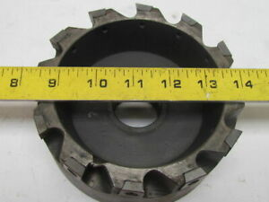 Ingersoll Max i pex Milling Cutter 6in Dia Face Mill W 12 Indexable Inserts