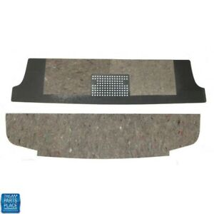 1962 64 Chevrolet Impala Rear Seat Trunk Divider Pair