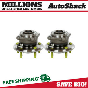 Rear Pair 2 Wheel Hub Bearing Assembly Fits 2012 2015 Chevrolet Captiva Sport