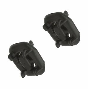 For Mercedes Rubber Donut Exhaust Hanger 1244920044 Pair New Fast Free Shipping