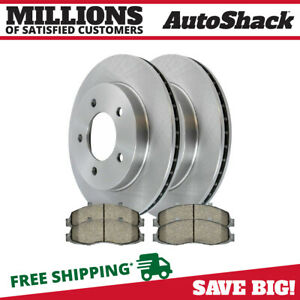 Front Rotors And Ceramic Pads For 1997 1998 1999 2000 2001 2002 2003 Ford F 150