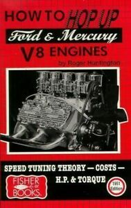Ford Mercury Flathead V8 Engine Book Hot Rod How Hop Up Manual 1932 1951 New