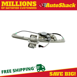 Rear Left Power Window Regulator With Motor For 2000 2004 2005 Cadillac Deville