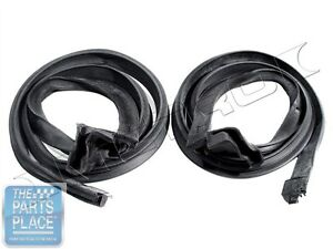 1965 66 Ford Mustang Roofrail Weatherstrip Seals Pair Rr6901