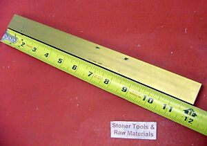 1 X 1 C360 Brass Square Bar 12 Long Solid 1 00 Flat Mill Stock H02