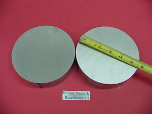 2 Pieces 5 1 2 Aluminum 6061 Round Rod 1 5 Long T6511 5 50 Od Lathe Bar Stock