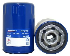 Engine Oil Filter Durapack Acdelco Pro Pf63f Case Of 12