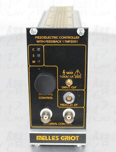 Melles Griot 17 Mpz 001 Piezo Electric Controller With Feedback Module