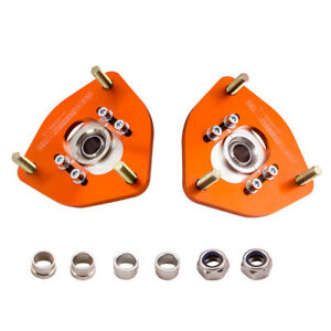 For Nissan S13 S14 S15 200sx 240sx Pillow Ball Camber Plate Front Top Mount Tpm