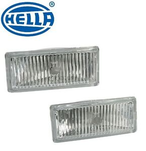 For Bmw E30 M3 Set Of 2 Left Right Fog Light Lens Oem Hella