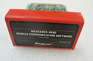 2003 Snap On Mt2500 Mtg2500 Scanner Mercedes Benz Software Cartridge Mt25001103