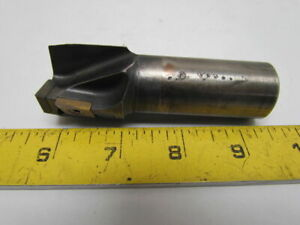 Ingersoll 16s1x1280r01 Indexable End Mill Cutter 1 25 3 insert 1 Shank Dia