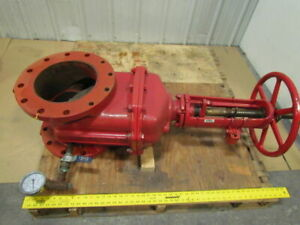 Flow Control 10 Resiliant Wedge Gate Valve Ductile Iron 250 Psig Class 125 Os