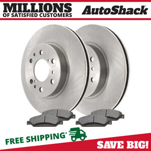 Front Rotors Ceramic Pads For 2005 2017 Gmc Sierra 1500 2008 2017 Silverado 1500