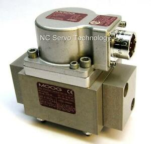 New Moog G772k619a Servo Valve W 12 Month Warranty