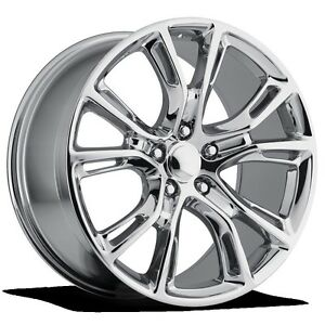 4 New Jeep Srt8 20 Chrome Wheels Oe 20x9 5x115 Dodge Charger Challenger 300