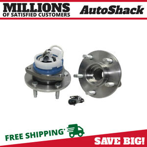 New Front Or Rear Wheel Hub Bearing Assembly Pair Set For Chevy Pontiac W Abs