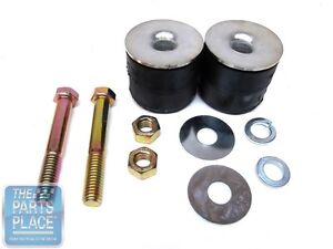 1971 76 Impala Radiator Core Support Round Bushings 4 Piece Kit