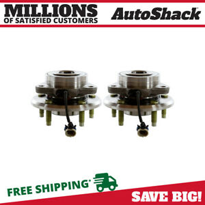 Front Hub Assembly Pair For 2007 2009 Chevrolet Equinox 2008 2010 Saturn Vue