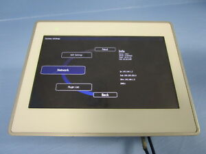 Uniop Etop Operator Interface Panel Touchscreen 7 Ethernet Display No Label