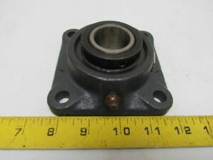 Linkbelt F219 F 219 New Ball Bearing W Flange Unit 1 3 16 Bore W Set Screw