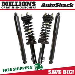 Front Rear 2 Strut Assembly W Coil 2 Shock For 05 2010 Jeep Grand Cherokee