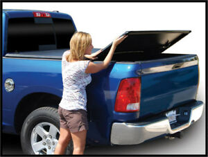 For Frontier 5 Ft Bed 42 402 Tri Fold Tonneau Cover With Utility Track 2005 2018