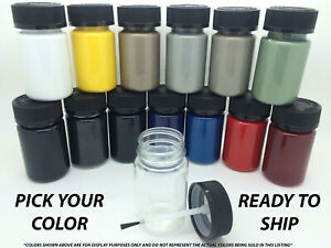 Pick Your Color 1 Oz Touch Up Paint Kit W brush For Ford Car Truck Suv 1 Ounce