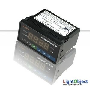Programmable Digital Ah Meter red Led Ideal For Battery Monitoring