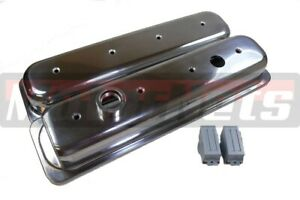 Sbc Lt1 Camaro Impala Polish Aluminum Valve Cover 350 V8 93 97 Center Bolt Lt 1