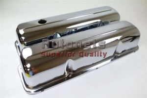 58 76 Ford Fe Chrome Steel Big Block Valve Cover 352 360 390 406 410 427 428 Bbf