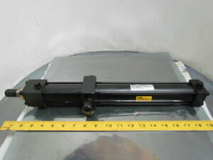 Parker Pneumatic Air Cylinder 1 1 2 Bore 13 1 2 Stroke Trunnion Mount