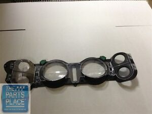 1970 78 Chevrolet Camaro Dash Lens Assembly With Factory Gauges