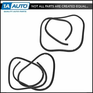Front Door Body Weatherstrip Seal Set Left Or Right For Chevy Silverado Gmc