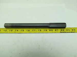 Morse High Speed Steel 1 Chucking Reamer 2 3 4 Straight Flute Used