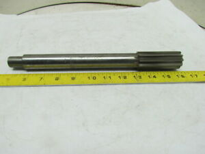 Butterfield 1 1 4 machine Chucking Reamer 10pt Straight Flute 745 Reduced Shank