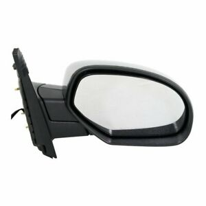 Power Mirror For 2007 2014 Chevrolet Tahoe Right Manual Folding Heated Chrome