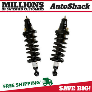 Rear Pair 2 Complete Struts Assembly W Coil Springs Fits 2001 2005 Honda Civic