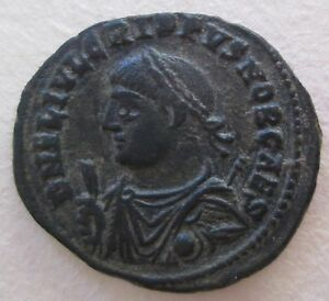 Roman Bronze Crispus Coin Archaeology