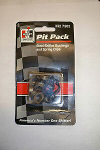 Hurst Shifter Pit Pack Steel Shifter Bushings And Spring Clips