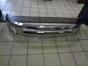 13 15 Dodge Ram 1500 Front Bumper Chrome With Fog Lamps New Mopar Genuine Oem
