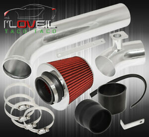 1992 1998 Bmw E36 L6 328 325 Racing Cold Air Intake Induction System red Filter