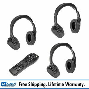 Dorman Wireless Headphones Remote Control Set Of 3 For Chevy Gmc Cadillac