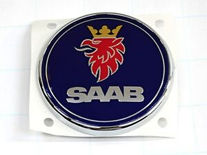 Saab 9 3 Sedan Trunk Emblem New Oem Rear Deck Lid Insignia Logo Badge