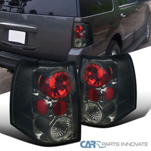 03 06 Ford Expedition Smoke Replacement Parking Tail Lights Rear Brake Lamps