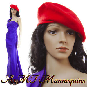 Female Mannequin Head And Arms Rotate Realistic Looking Full Body Maddy 2wigs