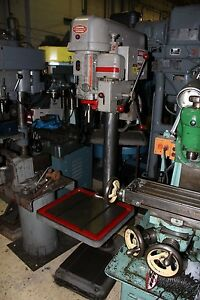 Powermatic 1200 20 Drill Press 3 4 Steel 1 Cast Iron Capacity