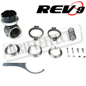 Rev9 Rs Series Turbo Wastegate 80mm V Band Type 5 5 Tall 5 12 17 Psi Springs