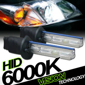 6000k Hid Xenon H1 Driving Bumper Fog Lights Lamps Bulbs Conversion Kit New Va1