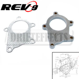5 Bolts T3t4 Turbo Exhaust Flange Gasket T 304 Stainless Metal Gasket Universal